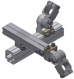 Gripper arm clamping piece
